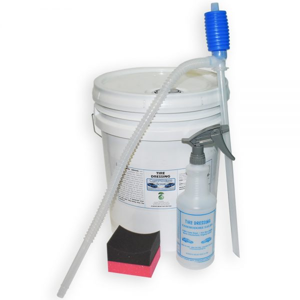 5 GALLON PAIL TIRE DRESSING KIT